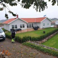 Färdigställande av hustomt Trönninge By
